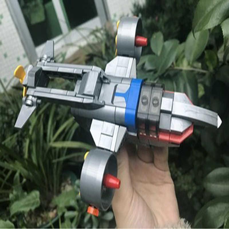 スーパーヒーローウルトラマン Tyro エース飛行船 4 · イン · 1 アクションフィギュアモデルビルディングブロック BrickHeadz おもちゃ最高子供のためのギフト