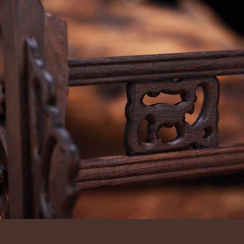 Chinês Tradicional Pincel de Caligrafia Caneta Caneta Titular 12 Gancho Madeira Chicken-asa Escova Cabide Suporte Resto Pintura Escrita Suprimentos