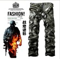 2 Colors 9 Sizes men's army trousers cargo pants multi-pocket casual overall military camouflage