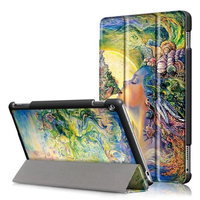 For Huawei Mediapad M3 Lite 10 0 M3 Younth 10 1 Inch Case Painted Print PU