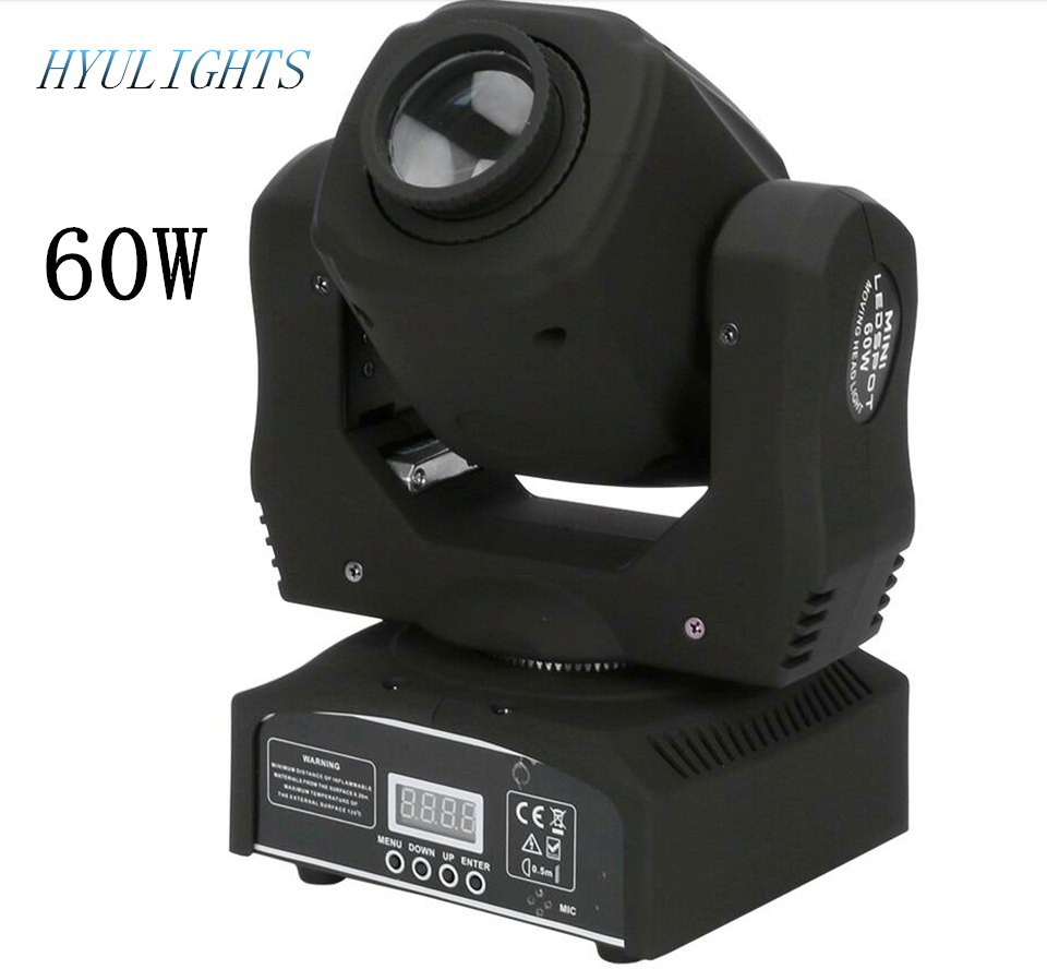 Mini Spot 60W LED Moving Head Light 7 Gobos Moving Head Light DMX 60w moving head mini spot led moving head stage light dmx 12ch with prism