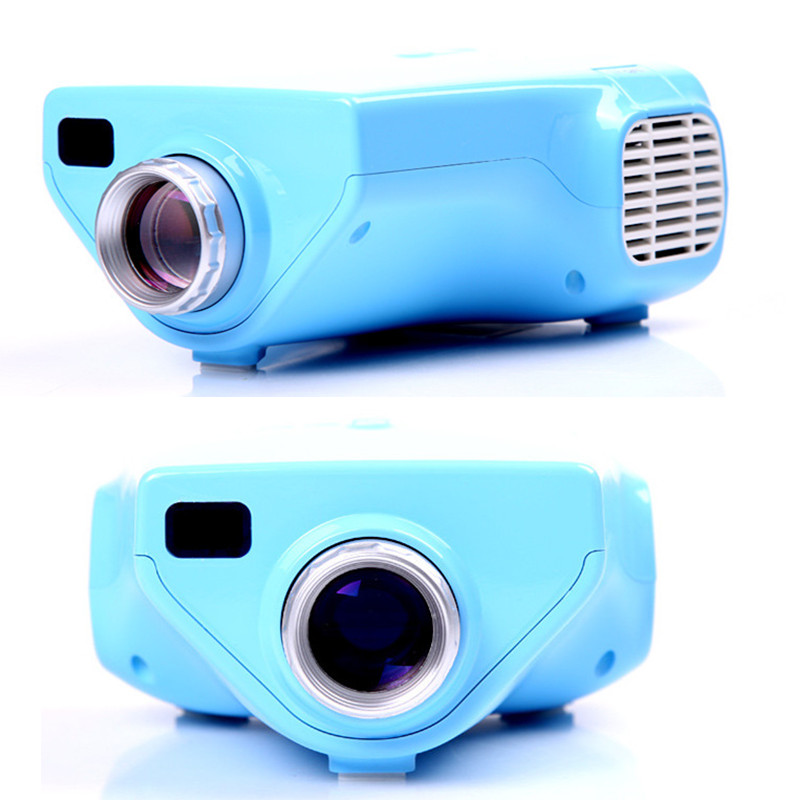 7500lm Hd Home Theater Multimedia Lcd Led Projector 1080: Popular E03 TV Projector Mini LED Projector Home Theater