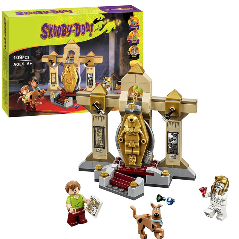 Bela 10428 Scooby-Doo Mummy Museum Mystery building Blocks Bricks Toys Boy Game Toys for children Model Car Gift Lepin 75900 lepin 22001 imperial flagship building bricks blocks toys for children boys game model car gift compatible with bela decool10210