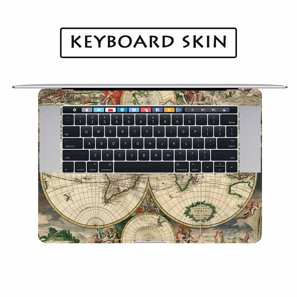 Antique world map laptop sticker decal for apple macbook pro air antique world map laptop sticker decal for apple macbook pro air retina 11 12 13 15 inch mac hp acer protective full cover skin in laptop skins from gumiabroncs Choice Image