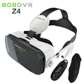BOBO VR Z4 3D Glasses Cardboard 3.0 IPD 120 FOV Virtual Reality Glasses VR Headset with Headphones for 4.7- 6.0 Phone+Controller