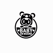 Baby On Board For Auto Car Window Vinyl Decal Sticker Decals Decor 15 7 7 7cm funny family on board the walking dead zombie automobile vinyl car window sticker decal fashion decor