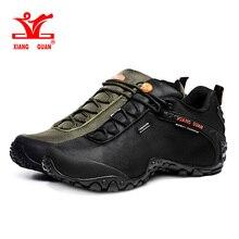 Xiang guan Треккинговые Ботинки зима Low Cut Сапоги и ботинки для девочек открытый Спортивная обувь спортивная обувь Для мужчин Прогулочные дышащие кемпинг восхождение обуви