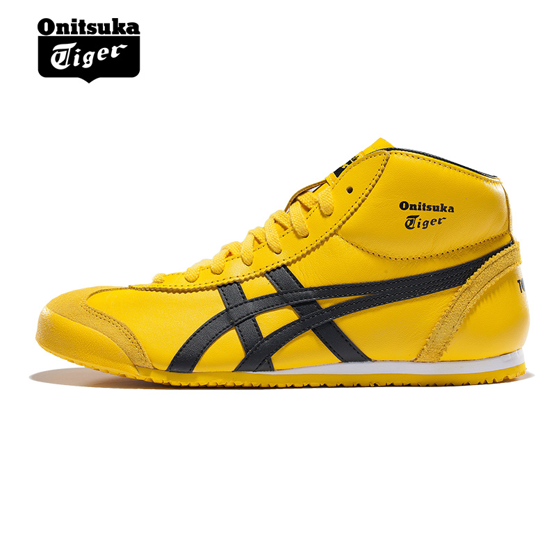 Onitsuka Tiger MEXICO 66 Men's Anti-Slippery Shoes Unisex Shoes Lightweight Breathable Women High Upper Sneakers THL328-0490 кроссовки onitsuka tiger dl408 0490 788