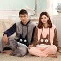 NUEVA Totoro Invierno Pareja Pijama Onesie Pijamas Para Las Mujeres/de Los Hombres/Mujer Adultos Footed Pajamas Animal Caliente ropa de dormir