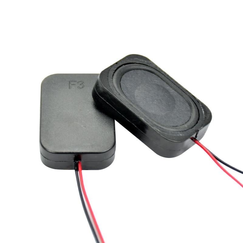 AIYIMA 2Pcs Mini Portable Audio Speakers 3020 8Ohm 2W Cavity Speakers DIY Speaker