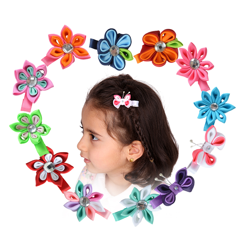 small handmade hair bows girls