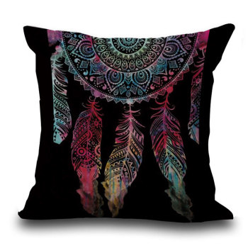 Black DreamCatcher Cushion  6