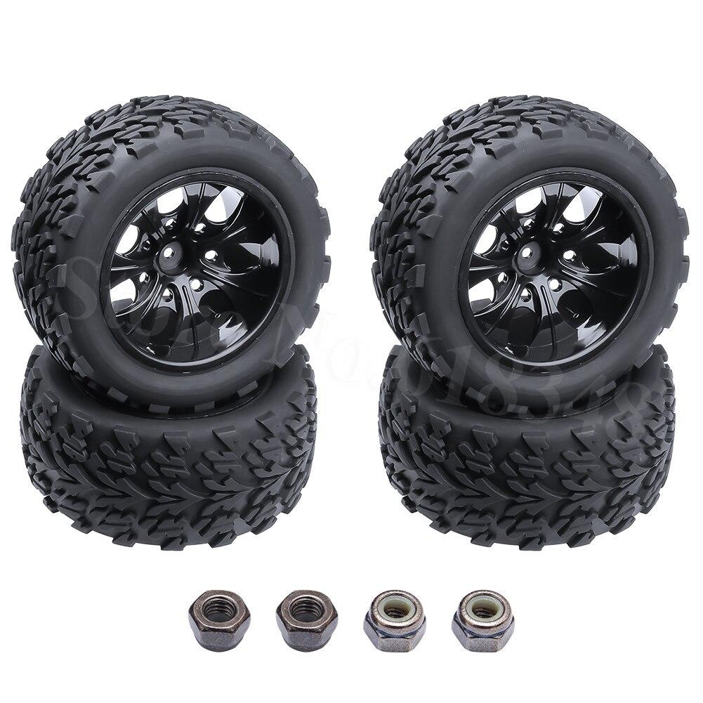 ✅4 piezas 2,2 pulgadas RC Bigfoot neumáticos 120mm rueda de ...