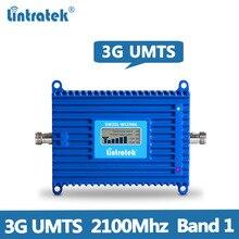 Lintratek 70dB 3G répéteur de Signal 2100MHz AGC amplificateur de Signal 3G répéteur 2100MHz Booster bande 1 WCDMA UMTS amplificateur KW20L