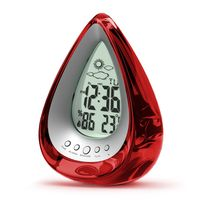 Big Toys Water Drop Shaped Alarm Clock Personality Water Clock Only Use Water Without Electricity Mute