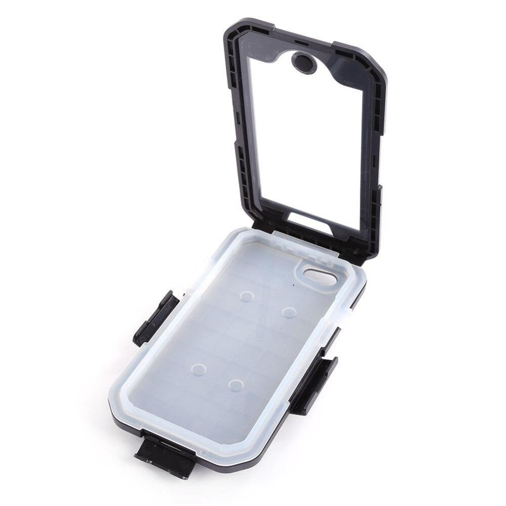 imágenes para Caja dura de la caja del teléfono impermeable bici de la motocicleta del montaje del manillar para el iphone 6 plus 5.5''