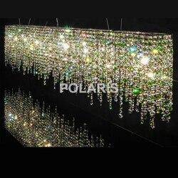 Moderno y Contemporáneo de lujo LED K9 lámpara de araña de cristal luces colgantes/lámparas para Villa comedor y decoración de Hotel