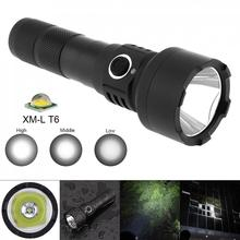 TC15 10W Waterproof LED Flashlight Super Bright XMK T6 LED 1100 Lumens Aluminum Alloy with 5 Modes Light,by Rechargeable Battery waterproof 10w q5 led flashlight 1500 lumens 300m range 5 modes light support 18650 rechargeable battery