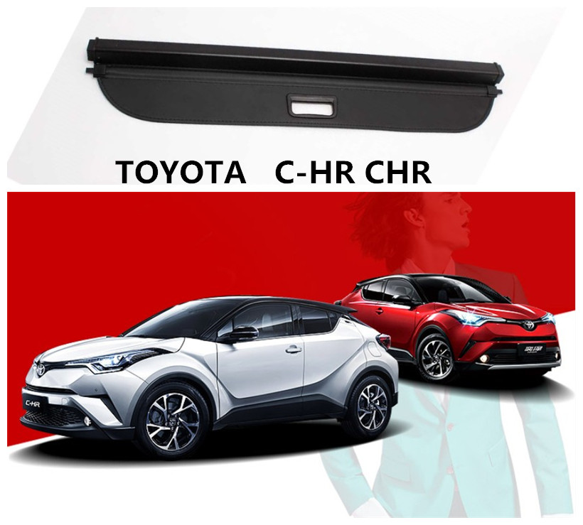 2019 Toyota Chr: For TOYOTA C HR CHR 2017 2018 2019 Rear Trunk Cargo Cover