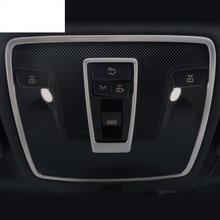 Lampada di Lettura auto telaio coperture decorative luce di cupola modanatura 3D adesivo per Mercedes Benz CLA classe B A180 GLA 200 260 Refit