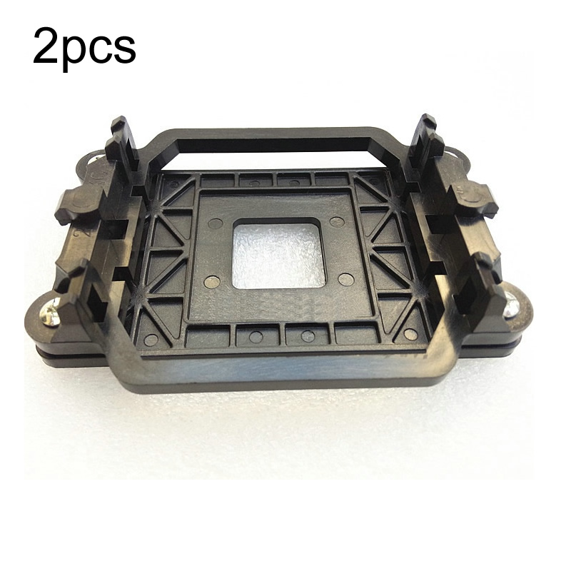 2pcs Excellent Quality Brand New CPU Cooler Cooling Retention Bracket Mount For AMD <font><b>Socket</b></font> AM3 AM3+ <font><b>AM2</b></font> <font><b>AM2</b></font>+ <font><b>940</b></font> image