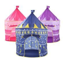 Portable Folding Kids Play Tent Castle Cubby House
