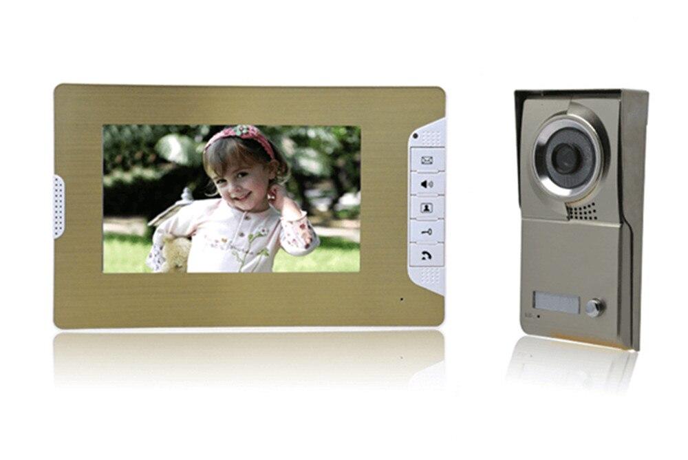 7 Inch 600TVL Metal Case   Intercom  Video Door Phone 7 Inch 600TVL Metal Case   Intercom  Video Door Phone