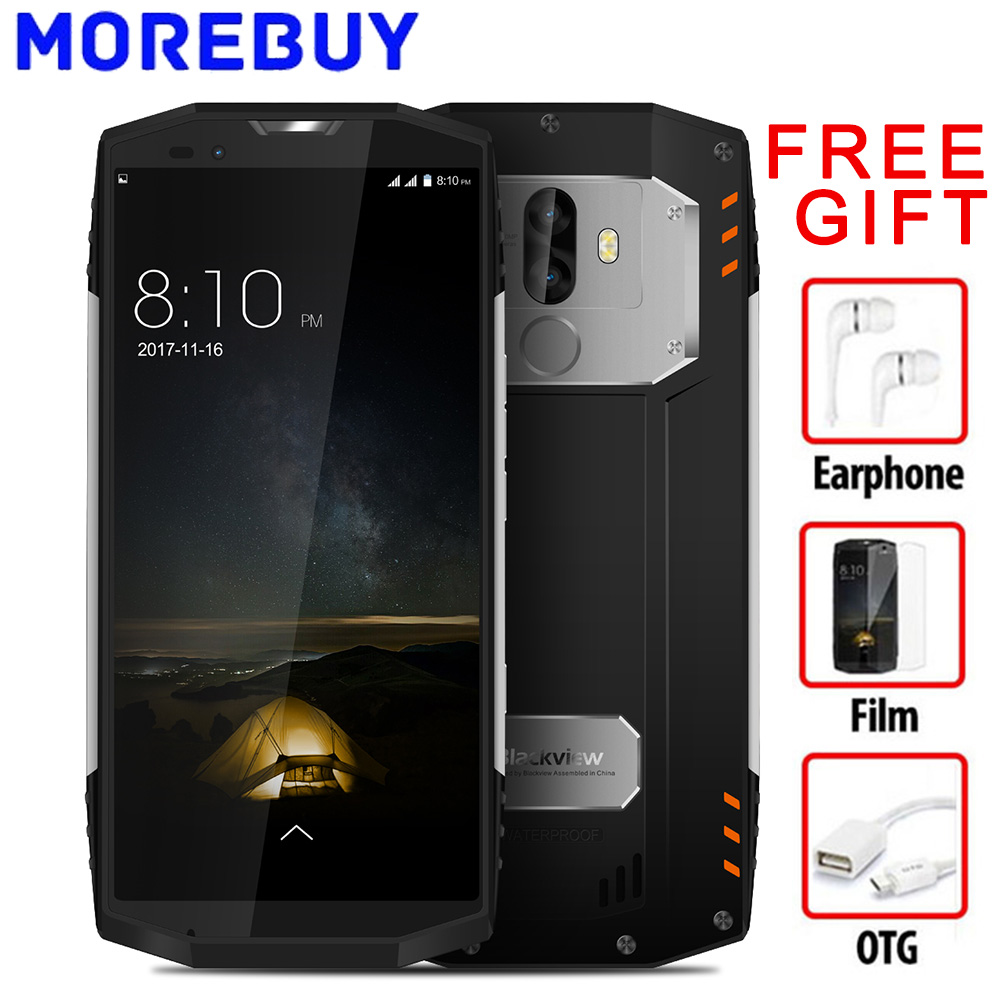 Blackview BV9000 18 9 IP68 Waterproof Smartphone RAM 4G ROM 64G Android 7 1 MTK6757CD Octa