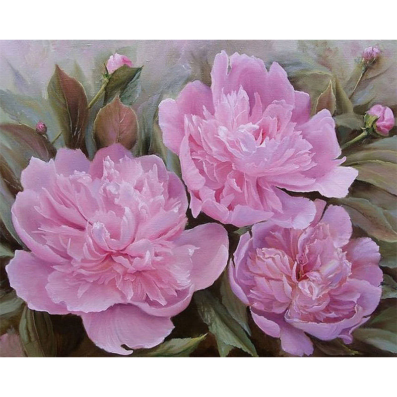 D sh 5d diy diamond painting embroidery pink flower full mosaic kit d sh 5d diy diamond painting embroidery pink flower full mosaic kit round rhinestone hibiscus cross stich home room decor in diamond painting cross stitch mightylinksfo