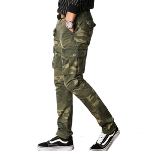 Image 2 - Vomint New Men Fashion Military Cargo Army Pants Slim Regualr Straight Fit Cotton Multi Color Camouflage Green Yellow V7A1P015