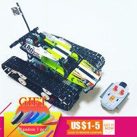 20033 Technical Series The RC Track Remote control Race Car Set Compatible with 42065 Building Blocks Bricks Gifts Toys