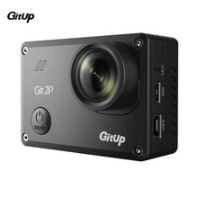 Gitup Git2 Pro Full HD 1080P Sports Action Camera 2K 30fps Wifi Waterproof Outdoor Cam +Dual Battery Charger+ 1Pcs Extra Battery