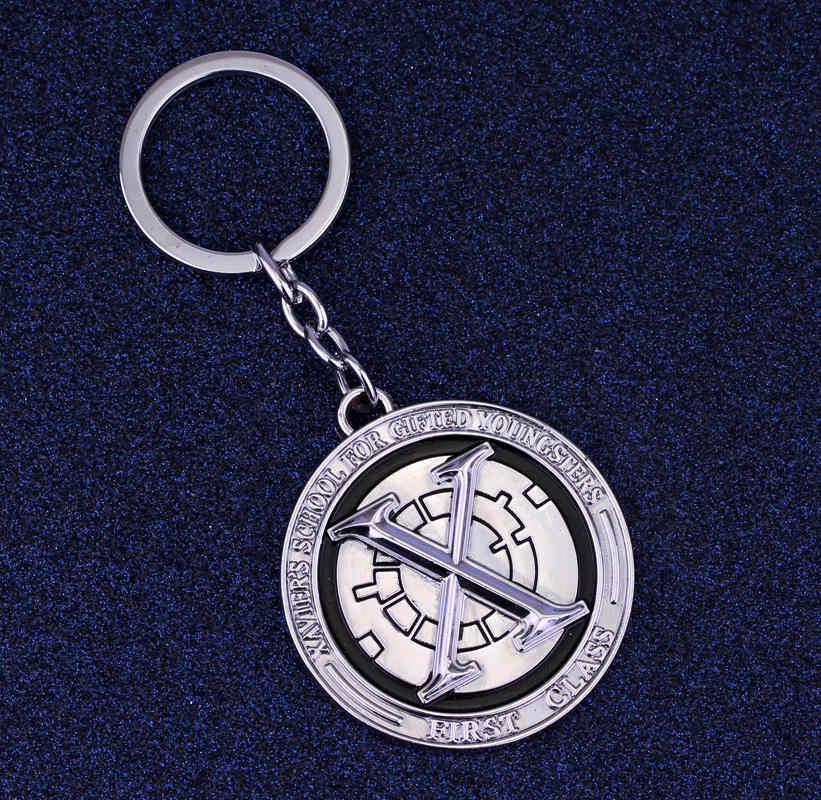 תכשיטי HANCHANG מארוול קומיקס X-הגברים Keychain Superhero גברים Chaveiro מפתח המכונית מחזיק מפתחות שרשרת מתנה אוהדי חג המולד Bijoux