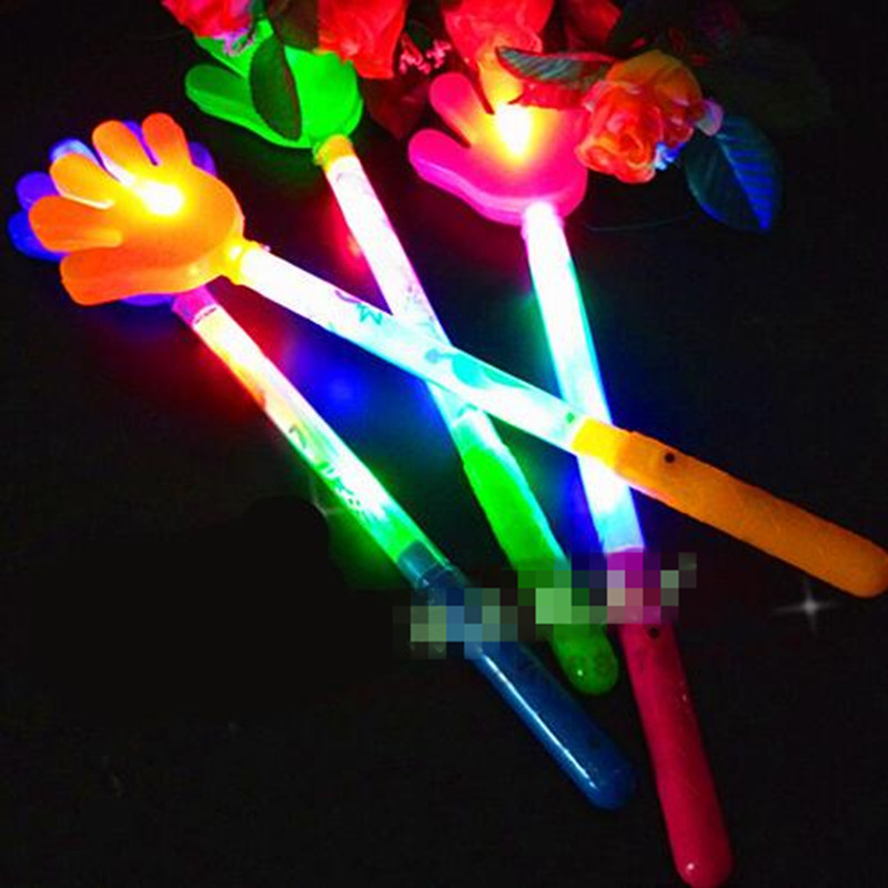 Novelty & Special Use Bright Children Led Magic Animal Butterfly Wand Sticks Flashing Light-up Glow Spring Sticks Party Concert Cheering Props Christmas High Quality Materials