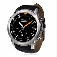 2017 smart watch x5 monitor de freqüência cardíaca do bluetooth smartwatch relógio round dial negócios apoio wifi gps pedômetro para ios android