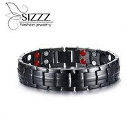 New Hot Sale Fashion Health Male Hologram Bracelets Energy Chain Men S Ceramic Bracelet For Men