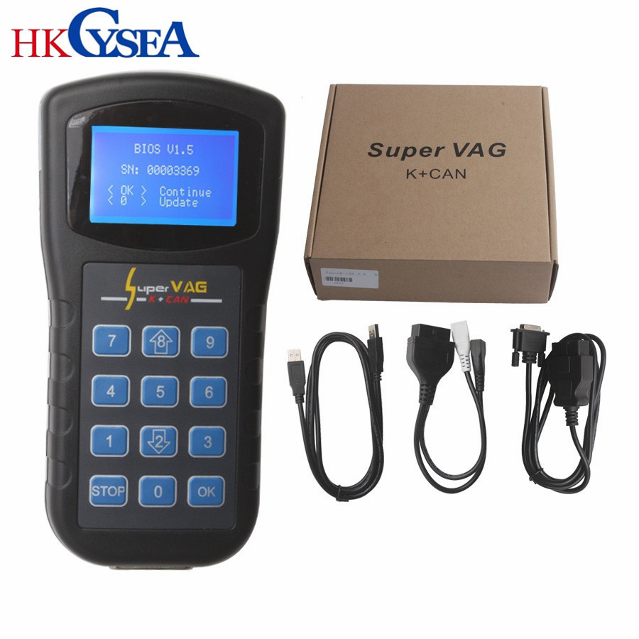 HKCYSEA SUPER VAG K CAN V4 6 4 8 Car Trouble Reading Code Machine Instrument Scanner