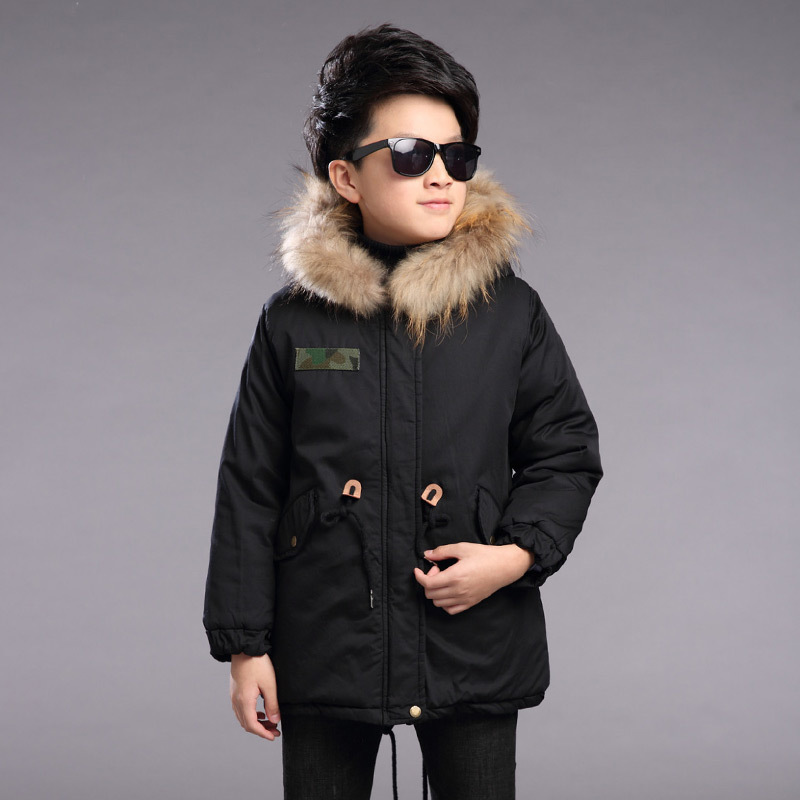 4 5 6 7 8 9 10 11 12 13t Winter Boys Duck Down Jacket Fur Collar Hooded Parkas Thicken Children Jackets Boy Overcoat Outerwear russia winter boys girls down jacket boy girl warm thick duck down