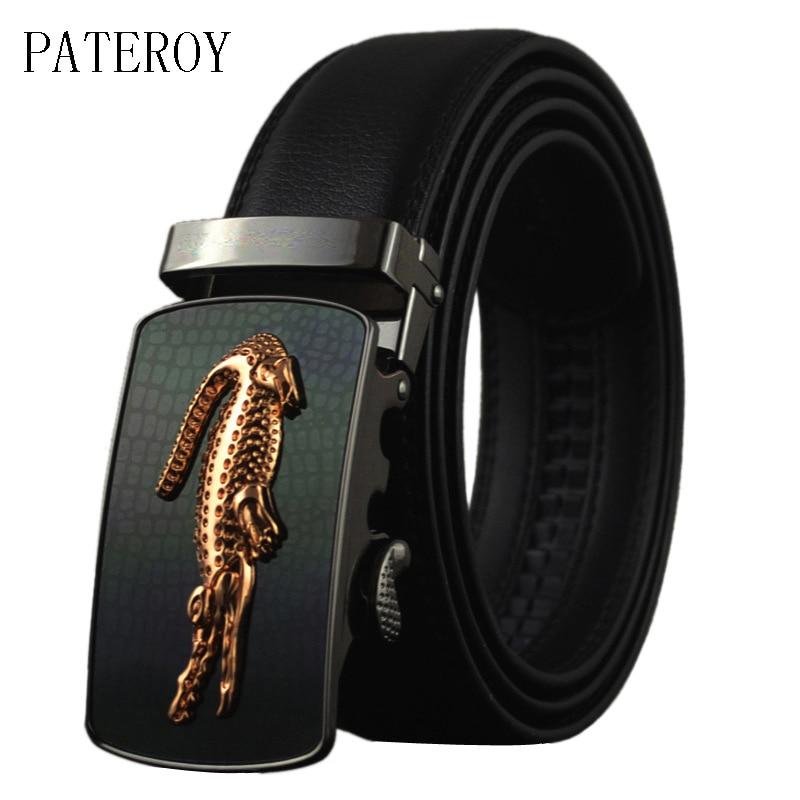Pateroy Cinturones de diseño Hombres Cinturón de los hombres de - Accesorios para la ropa