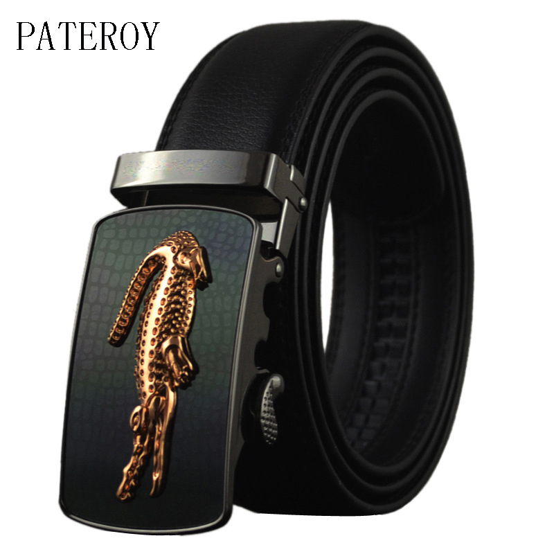 Pateroy مصمم أحزمة الرجال جودة عالية - ملابس واكسسوارات
