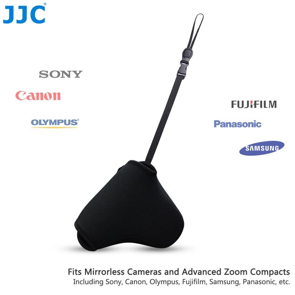 JJC Weiche Spiegellose Kamera Tasche Mini Fall Bunte Kleine DSLR Pouch S M L Tasche für Sony Olympus Samsung Nikon