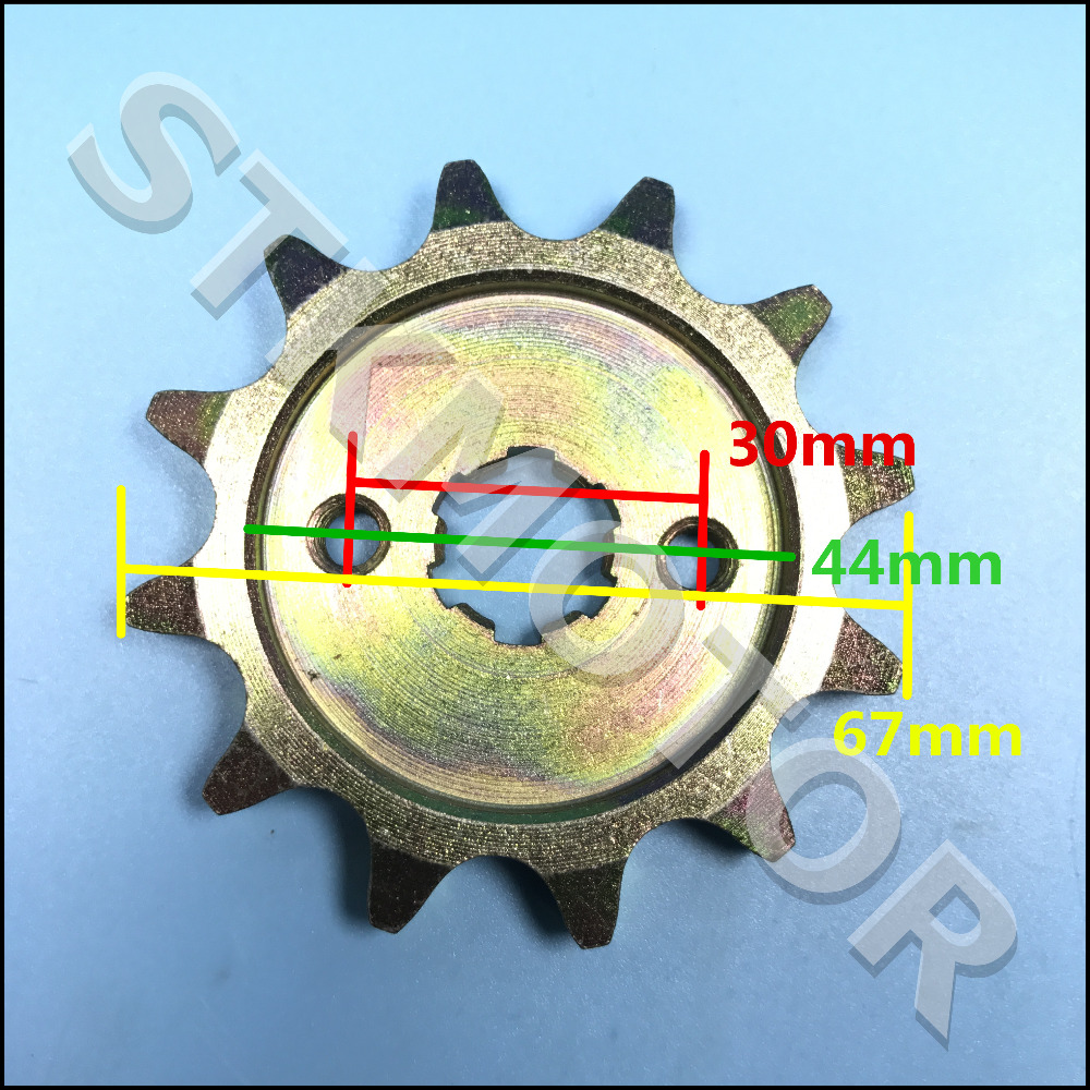 Humble Kazuma Front Sprocket 530 12t 12 Teeth 110cc Kazuma Falcon Atv Atv,rv,boat & Other Vehicle Atv Parts & Accessories
