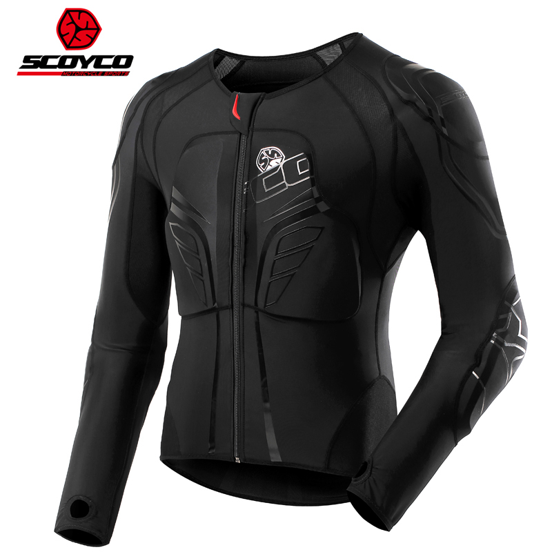 SCOYCO Motocross MX Armor Motorsprot Motorcycle Racing Armor Quick Drying Absorbent Perspiration Breathable Memory Moto Armour