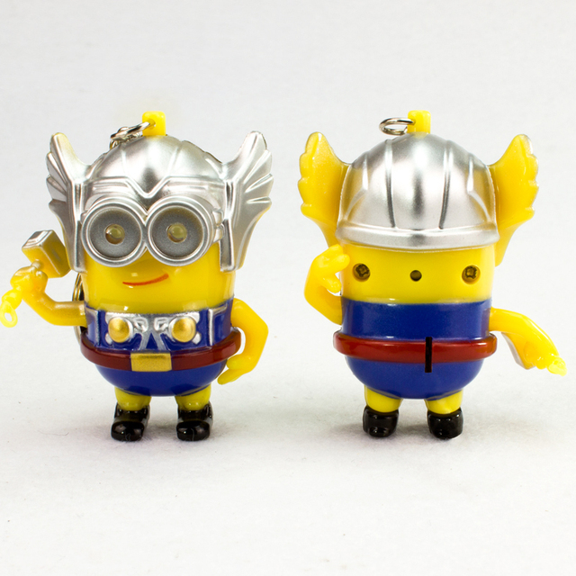 Despicable Me Minions Thor Led Keychain