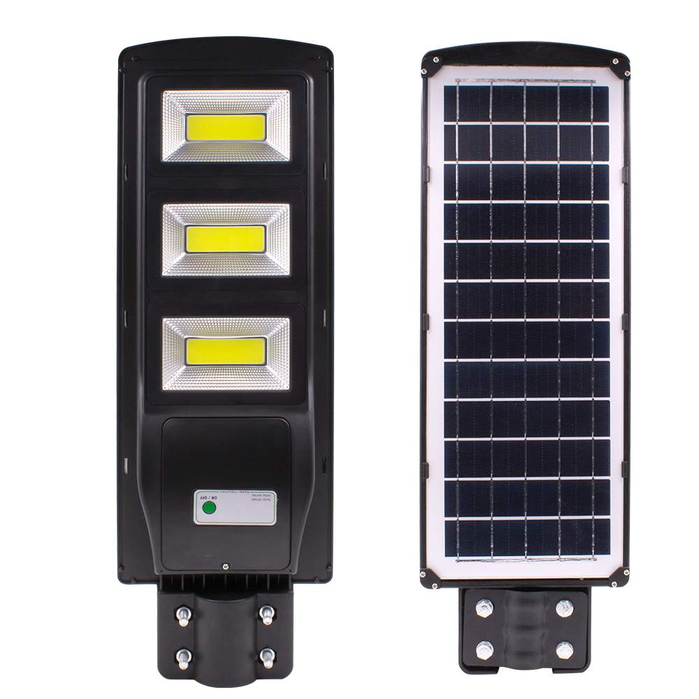 New High Quality 120W LED Street Light LED Solar Light Radar PIR Motion Sensor Wall Lamp Waterproof For Plaza Garden Yard
