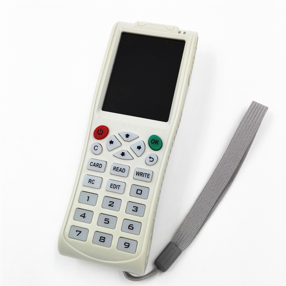New Arrival English version iCopy 3 Full decode function Smart Card Key Machine RFID NFC Copier IC/ID Reader/Writer Duplicator english 9 frequency full featured smart card key machine rfid nfc copier ic id reader writer 5pcs t5577 cards