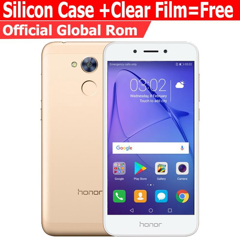 Huawei Honor 6A play 2 ГБ 16 ГБ оригинальный новый мобильный телефон Snapdragon 430 Octa core android 7.0 5.0 дюймов отпечатков пальцев ID