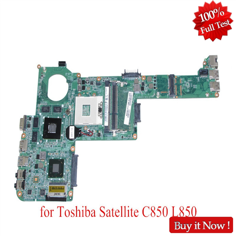 NOKOTION Mainboard A000174130 A0001753 For Toshiba Satellite C840 C845 L840 Laptop Motherboard HM76 DDR3 HD7670M Support I7