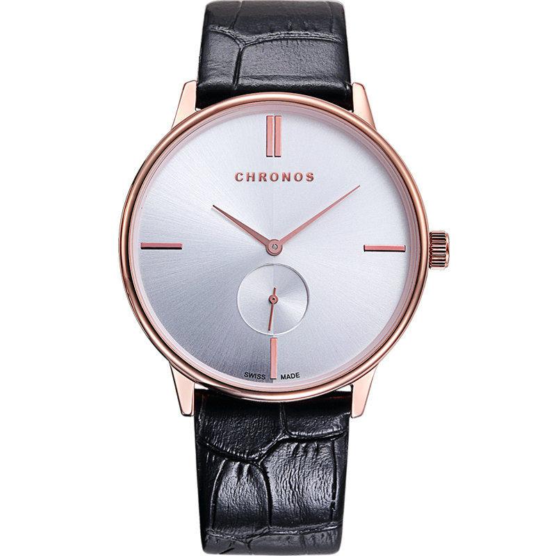 292ce9a01de CHRONOS Moda Simples Relógios de Quartzo do Amante Casal Relógios Das  Mulheres Dos Homens Casuais À