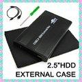 "High Quality Externa Hard Drive 2.5"" USB2.0 Enclosure IDE SATA HDD Case Free Shiping"